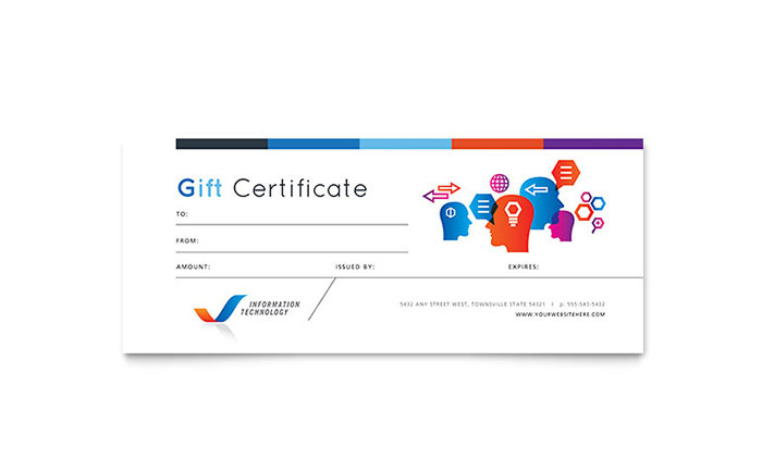 Free Gift Certificate Templates | Download Certificate Designs regarding Indesign Gift Certificate Template