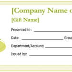 Free Gift Certificate Templates You Can Customize | Free With Microsoft Gift Certificate Template Free Word
