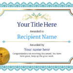 Free Golf Certificate Templates – Add Printable Badges & Medals Pertaining To Golf Certificate Template Free