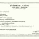 Free License Certificate Template Besttemplatess Business Throughout Unique Certificate Of License Template