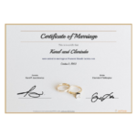 Free Marriage Certificate Template – Pdf Templates | Jotform Intended For Marriage Certificate Editable Templates