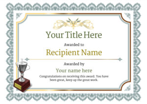 Free Martial Arts Certificate Templates – Add Printable pertaining to New Free Art Certificate Templates