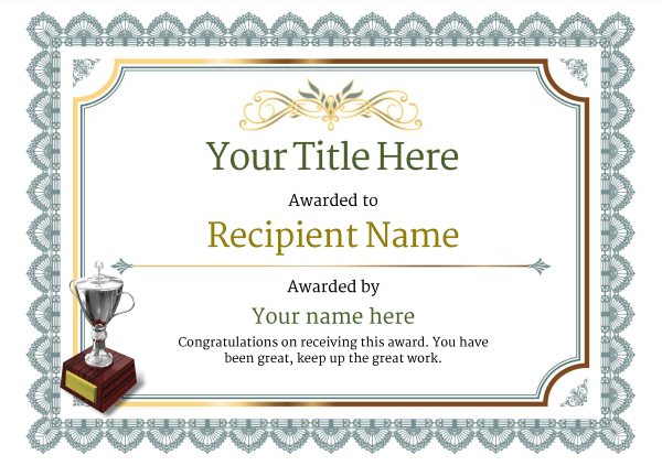 Free Martial Arts Certificate Templates - Add Printable pertaining to New Free Art Certificate Templates