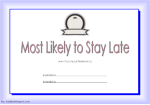 Free Most Likely To Certificate Template 2 Di 2020 in Best Free Most Likely To Certificate Templates