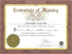 Free Ordination Certificate Template (7) – Templates Example pertaining to Ordination Certificate Template