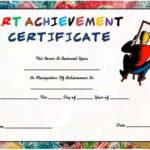 Free Printable And Customizable Art Certificate Templates With New Free Art Certificate Templates