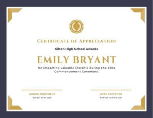 Free, Printable, And Customizable Award Certificate with Winner Certificate Template