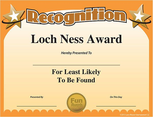 Free Printable Award | Funny Certificates, Funny Awards with regard to Free Printable Funny Certificate Templates