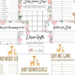 Free Printable Baby Shower Games – Volume 3 | Instant Download Pertaining To Best Baby Shower Gift Certificate Template Free 7 Ideas