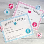 Free Printable Cat Adoption Kits   Chickabug Intended For Quality Cat Birth Certificate Free Printable