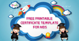 Free Printable Certificate Template For Kids ⋆ بالعربي نتعلم for Best Free Kids Certificate Templates