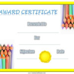 Free Printable Children'S Certificates. Most Of The Kids With Regard To Best Children'S Certificate Template