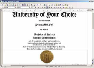 Free Printable College Diploma   Fake Diploma, Fake Degrees regarding Best University Graduation Certificate Template