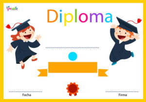 Free Printable Diploma Template Kids Certificate ⋆ بالعربي with regard to Unique Preschool Graduation Certificate Template Free