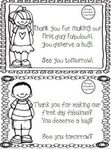 Free Printable First Day Of School Award – Teach Junkie throughout Fresh First Day Of School Certificate Templates Free