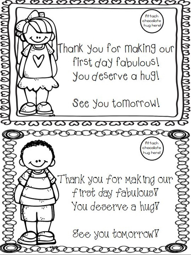 Free Printable First Day Of School Award - Teach Junkie throughout Fresh First Day Of School Certificate Templates Free