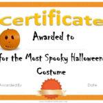 Free Printable Halloween Award Certificates   Halloween inside Fresh Halloween Costume Certificates 7 Ideas Free