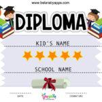 Free Printable Kindergarten Certificate Templates Pdf Regarding Best Kindergarten Diploma Certificate Templates 10 Designs Free