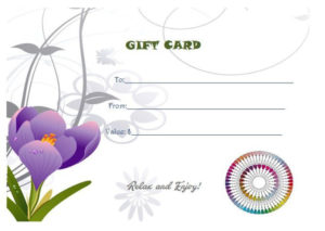 Free Printable Manicure Gift Certificate | Printable Gift pertaining to Free Printable Manicure Gift Certificate Template