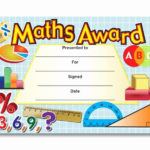 Free Printable Math Certificates Inspirational Certificate With Math Award Certificate Template