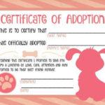 Free Printable Stuffed Animal Adoption Certificate Free Inside Stuffed Animal Adoption Certificate Template Free