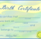 Free Printable Stuffed Animal Birth Certificates – Blueberry with regard to Fresh Stuffed Animal Birth Certificate