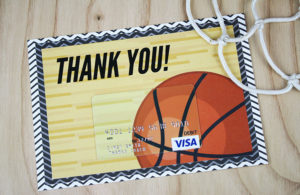 Free Printable} This Basketball Gift Is A Slam Dunk | Gcg pertaining to Fresh Basketball Gift Certificate Templates