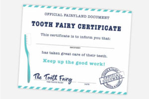 Free Printable Tooth Fairy Certificate, Receipt, Envelope in Fresh Tooth Fairy Certificate Template Free