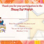 Free Printable Vbs Certificates Templates   Garden   School Inside Quality Vbs Certificate Template