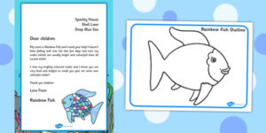 Free! – Rainbow Fish Craft Ideas For Children -Rainbow Fish with Unique Fishing Certificates Top 7 Template Designs 2019