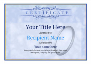 Free Rugby Certificate Templates – Add Printable Badges & Medals with regard to Rugby League Certificate Templates