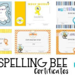 Free Spelling Bee Certificate Templates – Customize Online Throughout Spelling Bee Award Certificate Template