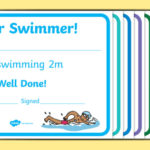 Free! – Swimming Certificate Templates – Physical Education For Unique Swimming Award Certificate Template