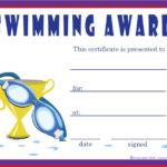 Free Swimming Certificates, Printable Swimming Certificate regarding Swimming Award Certificate Template