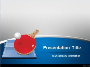 Free Table Tennis Powerpoint Template Inside Quality Table Tennis Certificate Templates Free 10 Designs