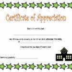 Free Teacher Appreciation Certificates Luxury Teacher With Regard To Happy New Year Certificate Template Free 2019 Ideas