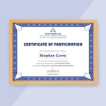 Free Templates For Certificates Of Participation (7 In Quality Physical Fitness Certificate Template 7 Ideas