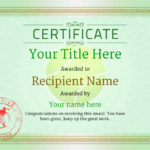 Free Tennis Certificate Templates – Add Printable Badges For Best Table Tennis Certificate Template Free