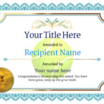Free Tennis Certificate Templates - Add Printable Badges throughout Tennis Tournament Certificate Templates