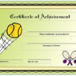 Free Tennis Certificates On Womens Tennis World   Gift Intended For Tennis Gift Certificate Template