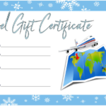 Free Travel Gift Certificate Template (1) - Templates intended for Unique Free Travel Gift Certificate Template