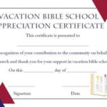 Free Vbs Certificate Templates (2) – Templates Example With Regard To Best Free Vbs Certificate Templates