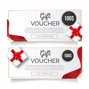 Free Vector   Elegant Gift Voucher Template throughout Elegant Gift Certificate Template
