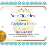 Free Volleyball Certificate Templates – Add Printable Badges Within Best Volleyball Participation Certificate