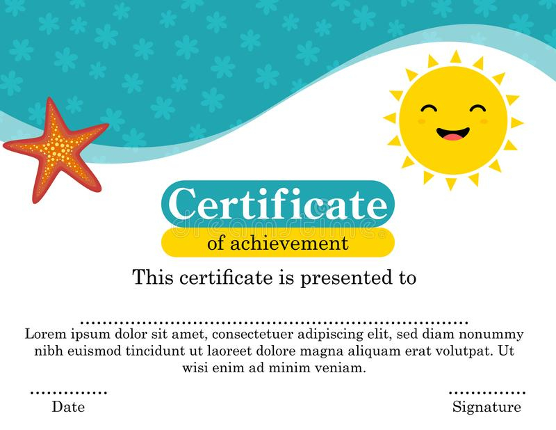 Fun Certificate Template Stock Illustrations – 4,180 Fun with Unique Fun Certificate Templates