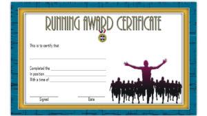 Fun Run Certificate Template Running Certificates Templates inside Running Certificate Templates