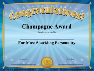 Funny Award Certificates – 101 Funny Certificates To Give within Funny Certificates For Employees Templates