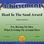 Funny Employee Awards - 101 Funny Awards For Employees, Work with regard to Best Funny Certificates For Employees Templates