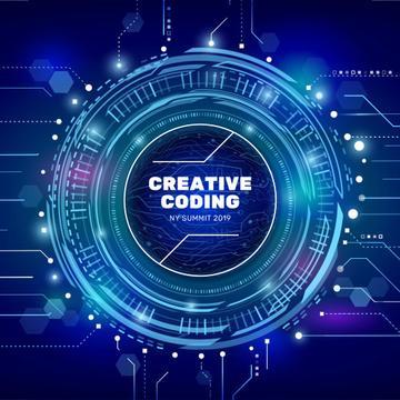 Futuristic Templates Free - Graphic Design Template   Crello in Quality Free 9 Smart Robotics Certificate Template Designs