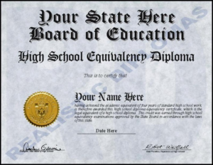 Ged Certificate Template Download (1) | Professional intended for Ged Certificate Template Download